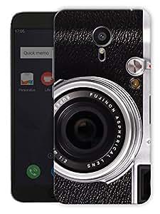 """Humor Gang Vintage Camera Face Printed Designer Mobile Back Cover For """"Meizu Mx5"""" (3D, Matte, Premium Quality Snap On Case)"""
