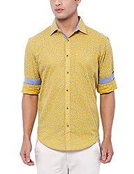 Deezeno Slim Fit Floral Printed Shirt