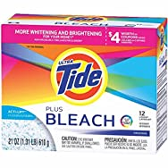 Ultra Laundry Detergent with Bleach, Original Scent, 21oz Box