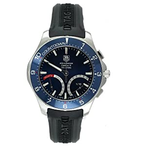 TAG Heuer Men's CAF7110.FT8010 Aquaracer Calibre S Regatta Hybrid Chronograph Watch