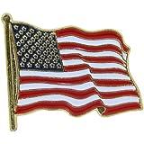 US Flag Store USA Lapel Pin Standard Flag