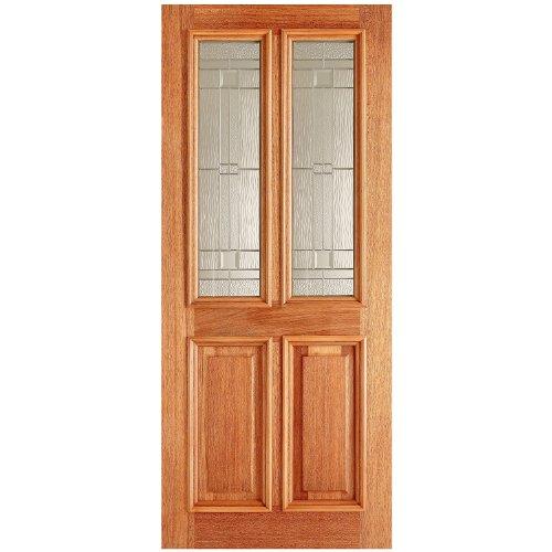 LPD Derby Exterior Door - Hardwood - Mortice & Tenon - 2 Lites - H 82in x W 34in x D 44mm