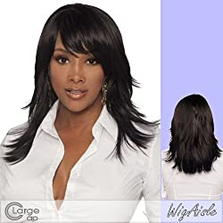 Merle V (Vivica A. Fox) Synthetic Full Wig In Medium Dark Brown