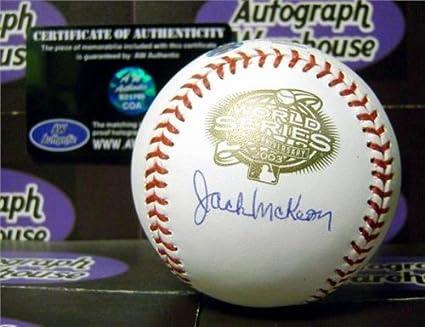 Jack Mckeon Jack Mckeon Signed Baseball