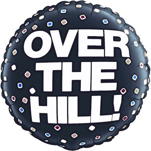 "36"" Over The Hill Frances Meyer Balloon (1 ct)"