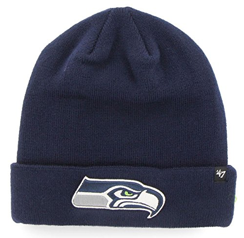 Seattle Seahawks NFL 47 Brand Recluse Cuff Knit Hat (Custom Seahawks Hat compare prices)