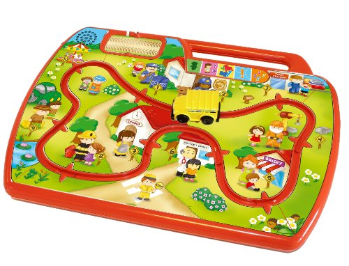 Kidz Delight Learn N Go Town Learning Toy, Red (Discontinued by Manufacturer)