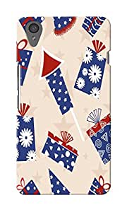 CimaCase American Abstract Designer 3D Printed Case Cover For OnePlus X
