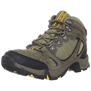 Hi-Tec Men's Falcon Waterproof Hiking Boot,Smokey Brown/Taupe/Core Gold,10 M US