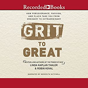 Grit to Great Audiobook