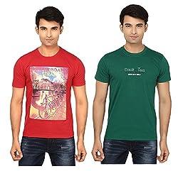 Strak Cotton Men's Casual T-Shirt (STR2043_XL)