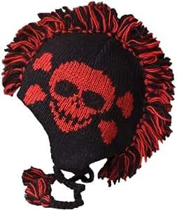 Amazon Com Nirvanna Designs Ch120m Skull Mohawk Hat With