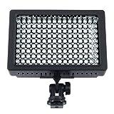 LD-160 LED  ビデオライト/撮影用ライト/緊急ライト/照明 160球のLEDを搭載 カメラLEDライト  光量切替 色温度切替可能  Nikon、 Canon  などのカメラ・ビデオカメラに対応