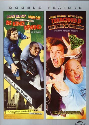 Be Kind Rewind/Tenacious D In The Pick Of Destiny (Double Feature)
