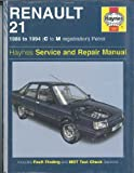 Ian Coomber Renault 21 Owner's Workshop Manual