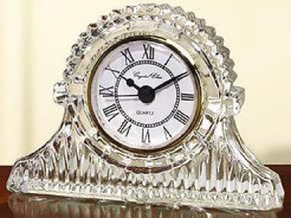 Regal Mantle Crystal Clock