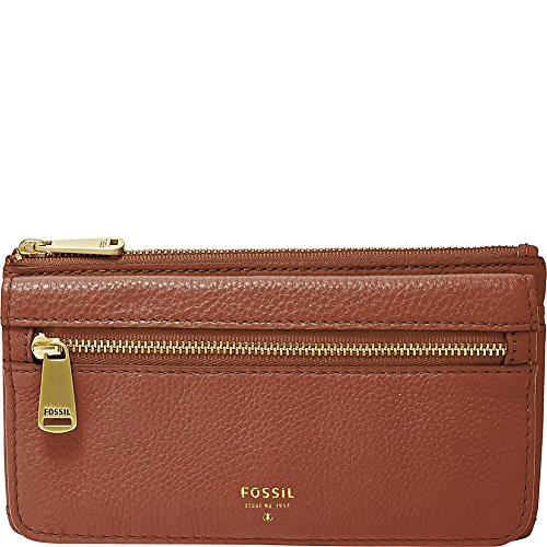 Fossil Preston Flap Wallet, Brown (Fossil Preston Leather Flap compare prices)