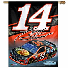 Tony Stewart Official NASCAR 27x27 Banner Flag by Wincraft by WinCraft