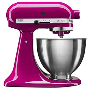 Amazon.com: KitchenAid KSM100PSTCB 10-Speed Tild Head Mixer ...