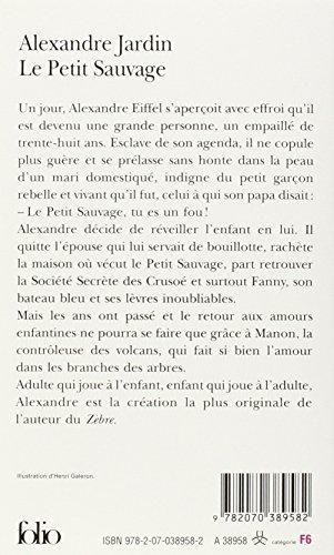 Libro le petit sauvage le prof di alexandre jardin for Alexandre jardin le petit sauvage