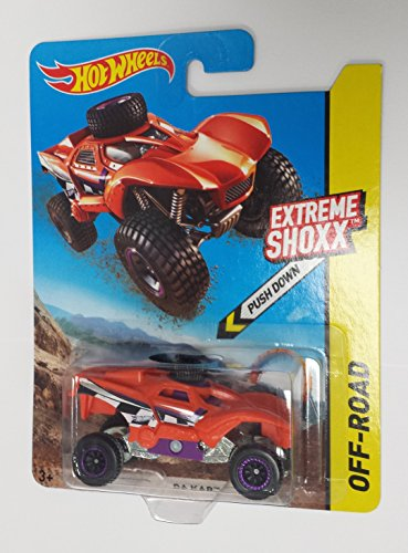 Hot Wheels Extreme Shoxx Off-road Green Da Kar Desert Sand Buggy - 1