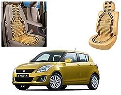 Auto Pearl - Premium Quality Car Wooden Bead Seat Cover For - Maruti Suzuki Swift New Model