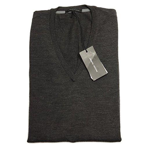 56270 maglione ROBERTO COLLINA maglia uomo sweater men grigio [54]