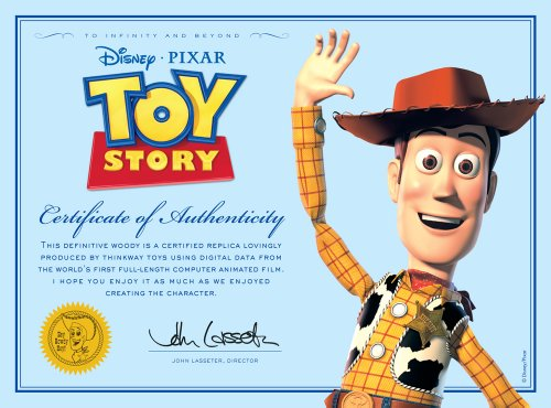 Toy story andy s toy collection sheriff woody