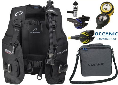 Oceanic Gear Scuba Diving Equipment Package Set, - (bcd/computer/regulatoroct...