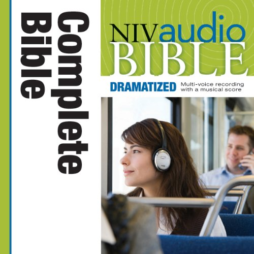 NIV Audio Bible 64 CD set