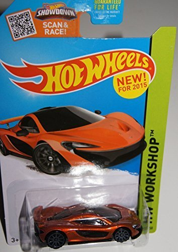 2015 Hot Wheels Hw Workshop - McLaren P1 - 1
