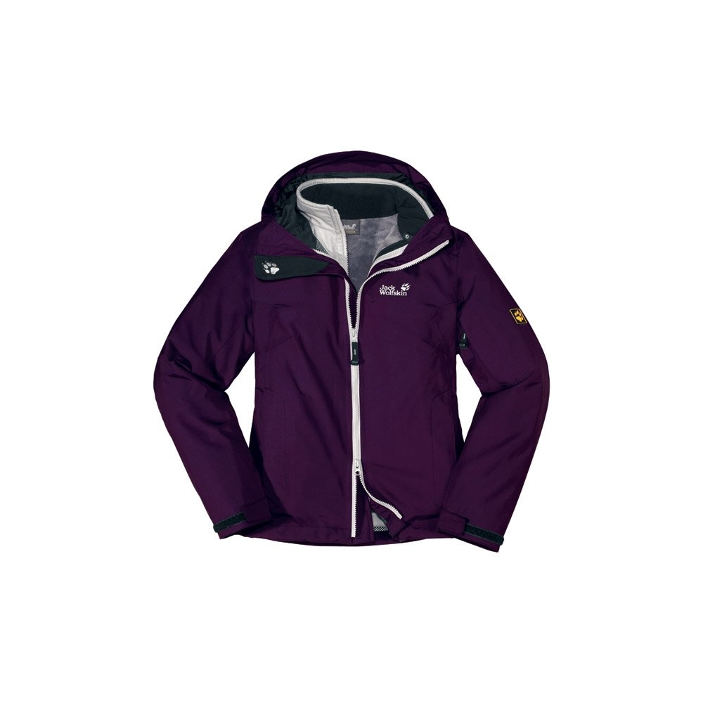 Jack Wolfskin Doppeljacke Libertine XT Jacket Women aubergine (Größe: XS) jetzt bestellen