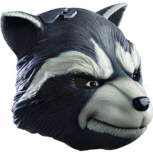Morris Costumes Rocket Racoon Adult Mask