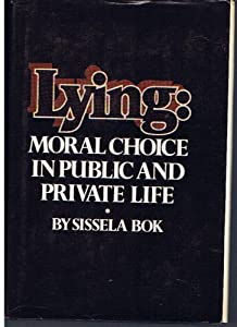 "Cover of ""Lying"""