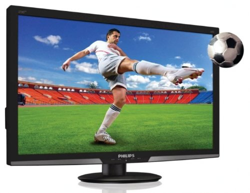 Philips G-Line 273G3DHSB 27 inch 3D LCD Monitor with LED Backlight and Smart Image - Black
