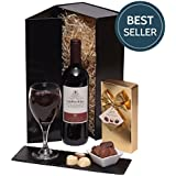 Wine & Chocolates Gift Set - Wine Gifts & Wine Hampers - Christmas, Birthday & Thank You Gifts