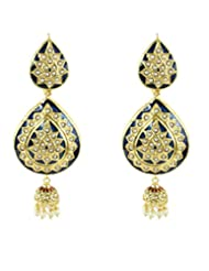BGS Style Diva Gold Plated Metal Earring For Women - B00L2EK0IA