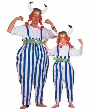 Herren-Kostüm Gallier, Gr. 58-60