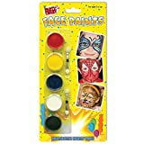 Party Crazy Face Paints (Pack of 5)