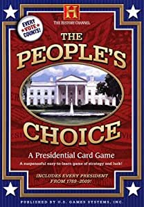 People Choice Presidential Card Game