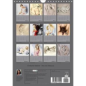 Erotische Malerei - Akt und Dessous (Wandkalender 2016 DIN A4 hoch): 13 handgemalte P