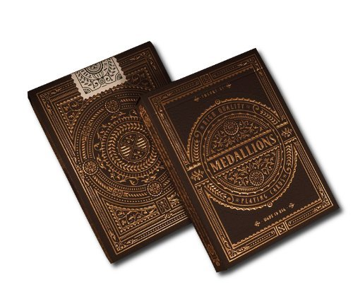 Medallions Deck Signature Bicycle Playing Cards by Theory11 New