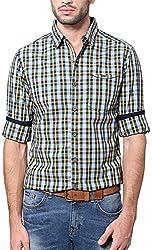 East West Men's Casual Shirt (EW-POP-008_40)