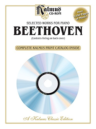 Selected Works For Piano (Kalmus Classic Edition) front-650749