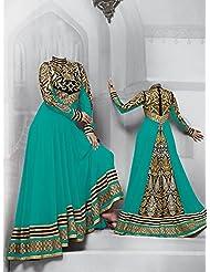 Typify Georgette Semistitch Dress Material - B0196RIZSQ