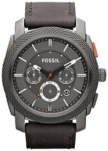 Fossil Men's FS4777 Machine Analog Display Analog Quartz Grey Watch