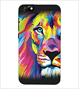 PrintDhaba Graffiti D-5158 Back Case Cover for HUAWEI HONOR 4X (Multi-Coloured)