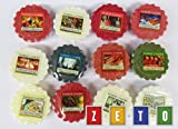 Yankee Candle Pack of 12 Assorted Festive Wax Tarts