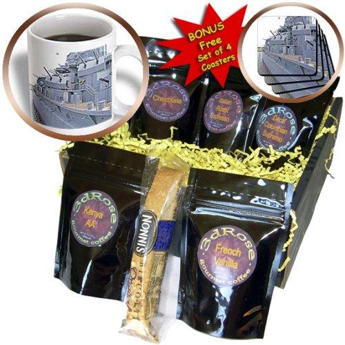 Cgb_87291_1 Danita Delimont - Ships - Uss Alabama Battleship Memorial Park Mobile Alabama - Us01 Mgi0027 - Mark Gibson - Coffee Gift Baskets - Coffee Gift Basket front-58191