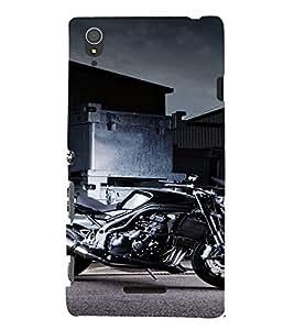 PrintVisa Sports Bike Design 3D Hard Polycarbonate Designer Back Case Cover for Sony Xperia T3